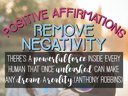 Release Negativity