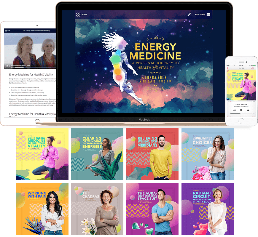 Energy Medicine Program by Donna Eden and David Feinstein_Heal Your Body with Energy Medicine_Energy Medicine by Donna Eden and David Feinstein Course Review_How to Heal Yourself
