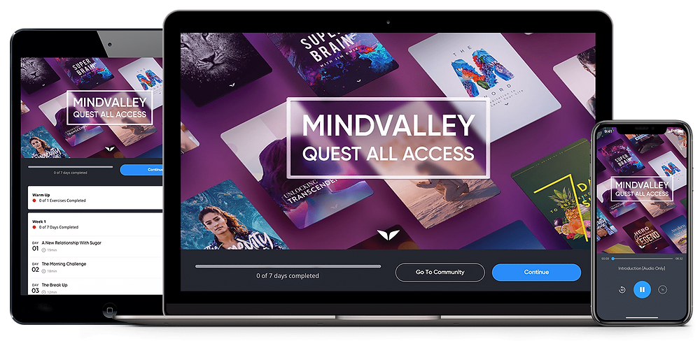 The Mindvalley Quests All-Access Pass