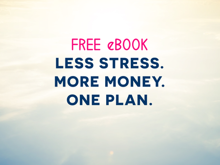 eBook: Wealth Brain - Less Stress. More Money. One Plan.