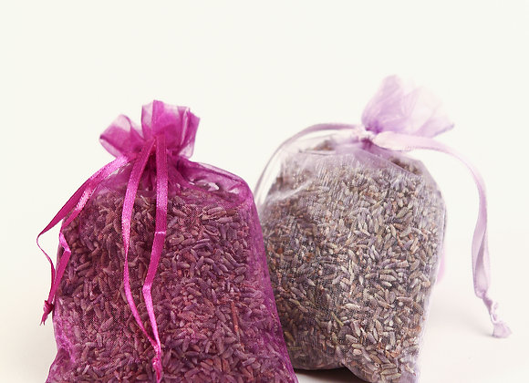 Dried Lavender Bud Sachet
