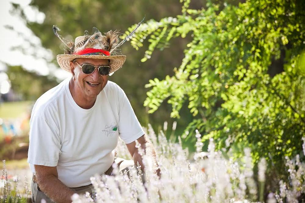 Jag Sodhi founder of Lavender Valley Acres