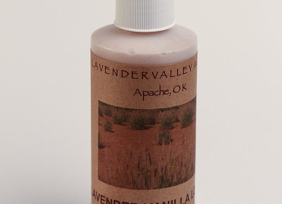 Lavender Lotion with Vanilla