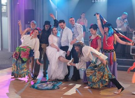 Russische Hochzeit in Weiden