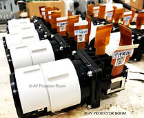Genuine parts used for projector repair by AV Projector room Malaysia