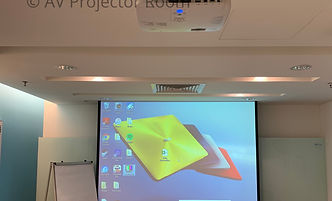 Colour and image calibration during service and maintanence by AV Projector room Malaysia