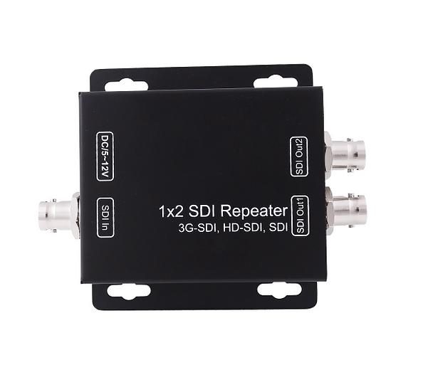 1x2 3G SDI Splitter & Repeater