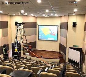 Kuala Lumpur laser no lamp projector installer service