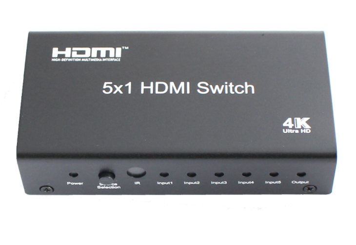 5x1 HDMI Switch / Switcher with remote control