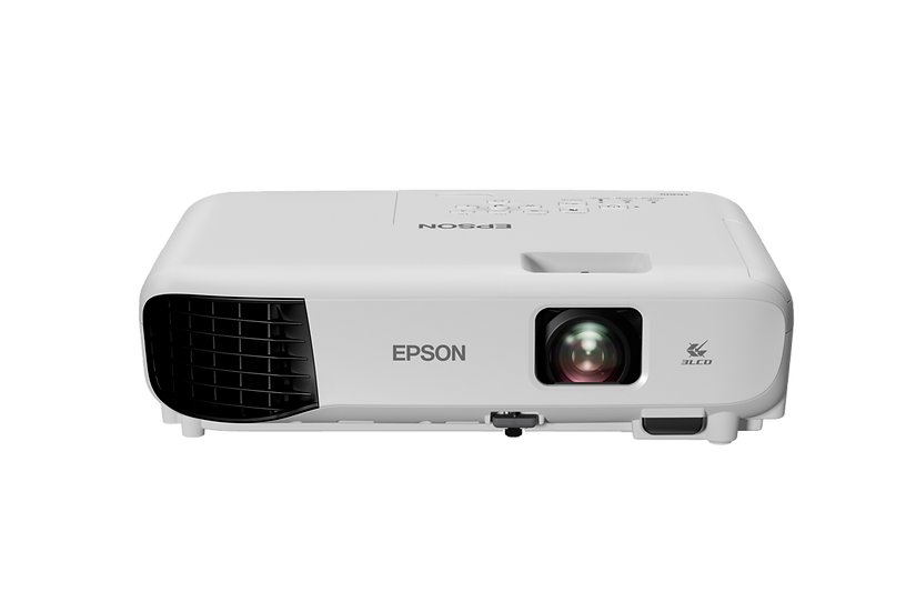 Epson EB-E10 3,600 Lumens XGA 3LCD Entry Level Projector [Free Bag & HDMI]