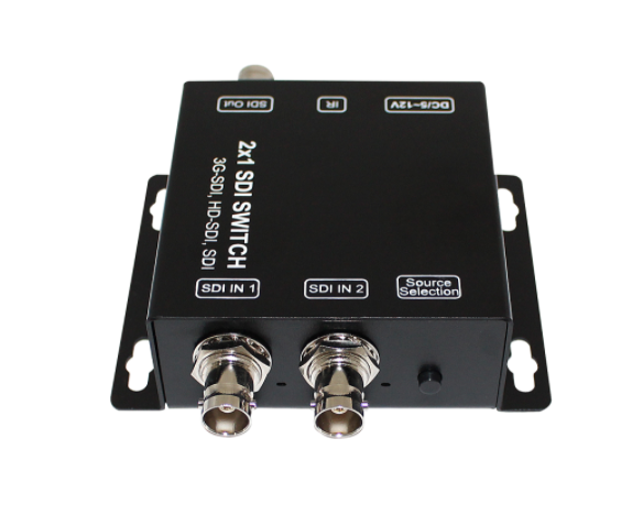 2x1 SDI Switcher & Repeater