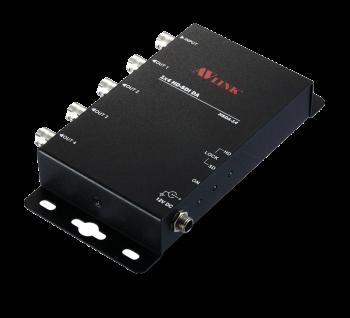 1x4 HD-SDI Video Repeater/Distribution Amplifier HSDA-14 Malaysia