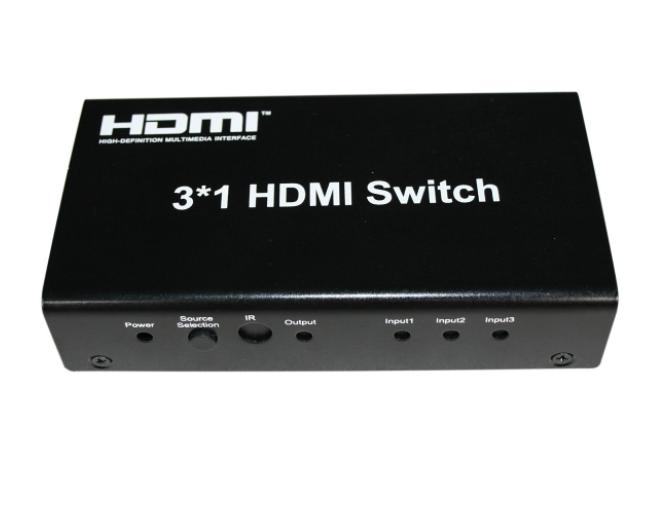 3x1 HDMI Switch / Switcher with remote control