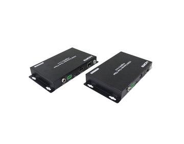 60KM HDMI2.0 Extender Over Fiber, 4K@60hz YUV4:4:4, HDR