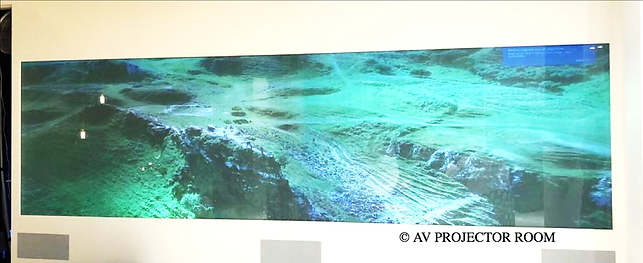 Multiple projector blending and mapping and cropping in Klang Valley Malaysia