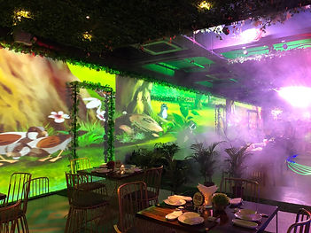 Projection stacking and edge blending by AV Projector room Malaysia