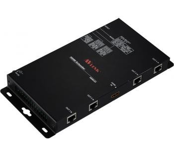 HDM-E4 Extender - HDMI in / 4 HDBaseT out 100M Malaysia
