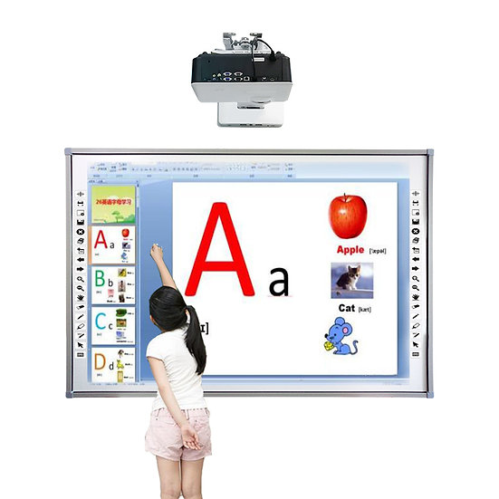 Ten Points Touch Infrared Interactive Smartboard for Short Throw Projector