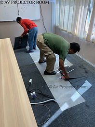 All in one expert installer by AV Projector room malaysia