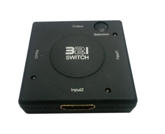 3x1 HDMI Switch / Switcher - CEC pass through
