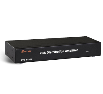 1x4 Video/VGA Distribution Amplifier VS-814PF Malaysia