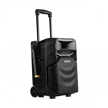 Portable trolley speaker and microphone for rental by AV Projector room Malaysia