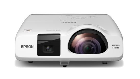 Epson EB-536Wi Short Throw Interactive WXGA 3400 Lumens 3LCD Projector