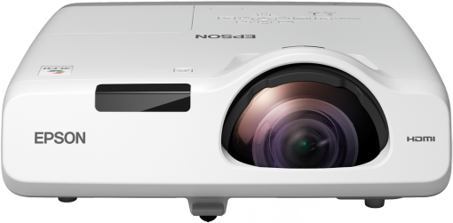 Epson EB-535W Short Throw WXGA 3,400 Lumens 3LCD Projector