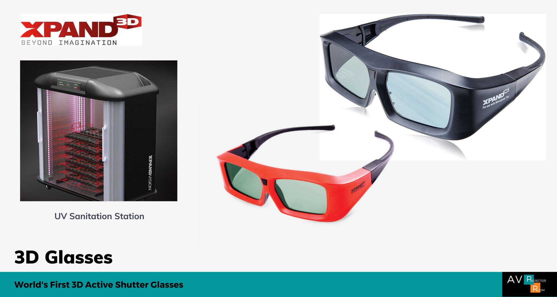 Xpand 3D Glasses Malaysia | AV Projector Room