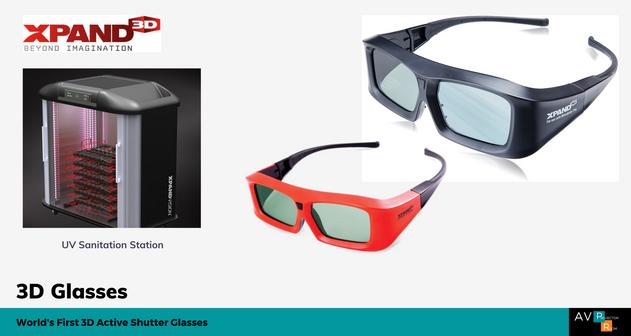 Xpand 3D Glasses Malaysia | AV Projector Room