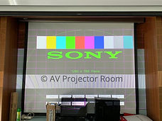 Projector colour calibration during repair petaling jaya