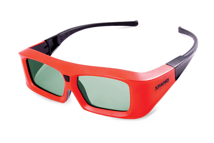 XPANDVISION Pi Cinema 3D Active Shutter Glasses Malaysia