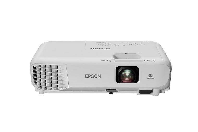 Epson EB-W06 WXGA 3,700 Lumens 3LCD Projector [Free Bag & HDMI Cable]