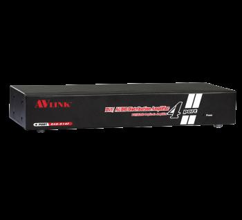 1x4 DVI/Audio Distribution Amplifier DAS-914F Malaysia