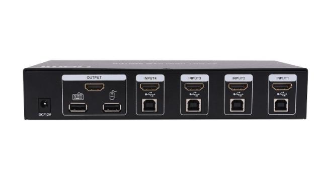 4 port HDMI+USB KVM Switch / Switcher