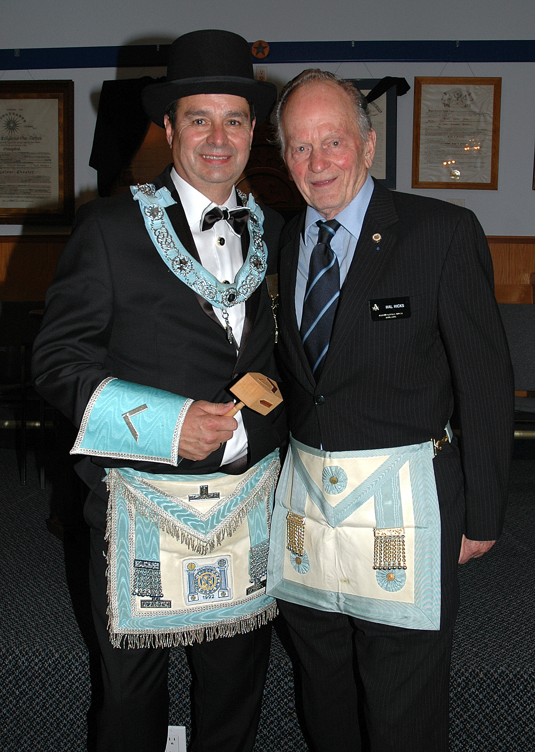Worshipful Master Gerry Flesh