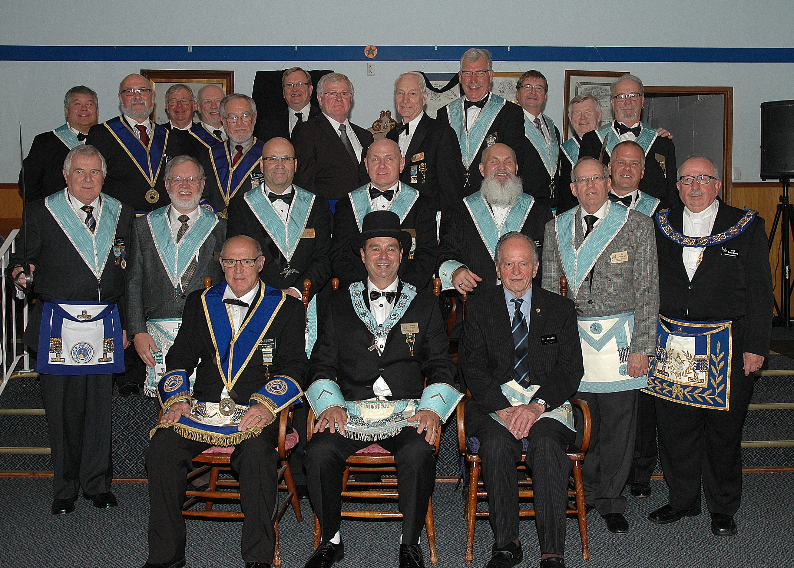Officers Doric Lodge 2015-2016