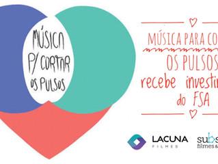 Música Para Cortar Os Pulsos recebe investimento do FSA
