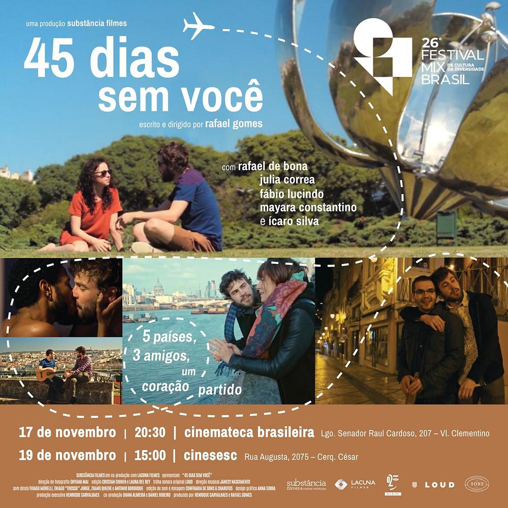 45 Dias Sem Você no Festival Mix Brasil