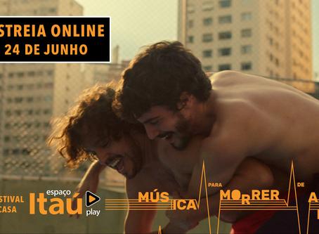Assista agora! Música Para Morrer de Amor no Festival Itaú Play