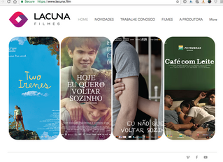 Site novo da Lacuna Filmes!