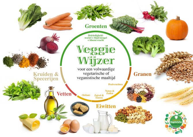 DE VEGGIE WIJZER wijzer vegetarisch of veganistisch leven