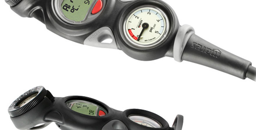 Mares Mission 3, Depth, Air gauge and Compass