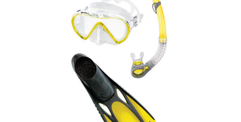 Mares Cobia / Fluida Mask, Snorkel, Fin set