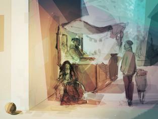 Dream Merchants Concept Art
