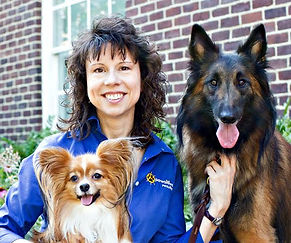 Teoti Anderson supports this Columbia SC dog training business