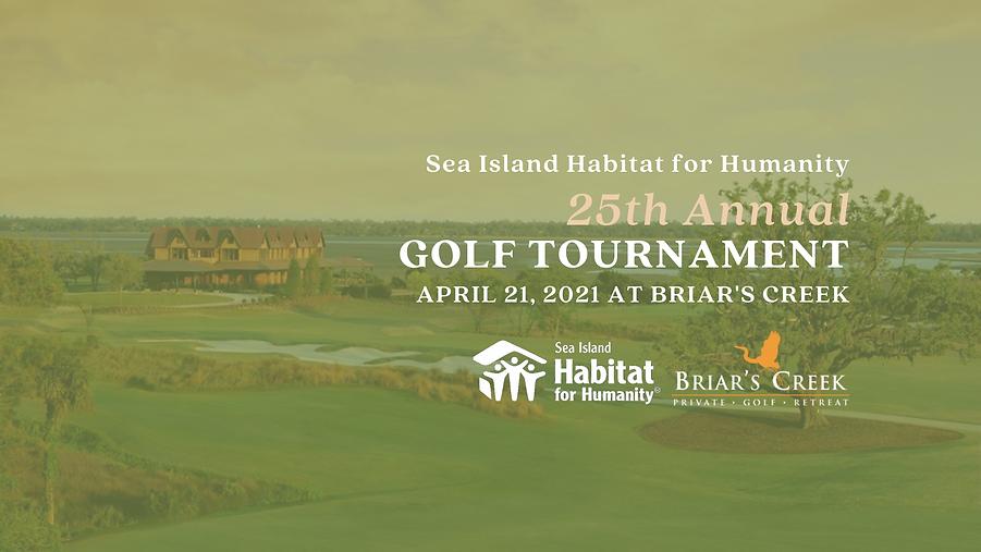 Golf Tournament 2021 - Flyer & Header (2
