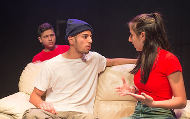 High-quality theater training is the priority at Etty Hillesum Youth Theater in Jaffa. Photo by Dan Yosefi