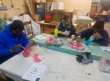Arts and Crafts at WOC`