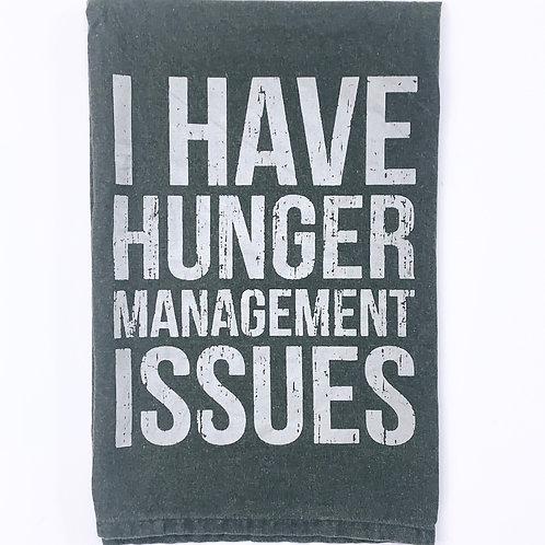 Hunger Management - Dishtowel